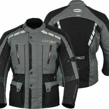 Armour safety motorcycle motorbike scooter waterproof textile jacket ANT