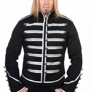 Banned Military Drummer Jacket Black Parade Jacke