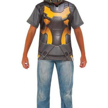 LICENSED YELLOW JACKET CHILD BOYS SUPERHERO ANT-MAN DRESS