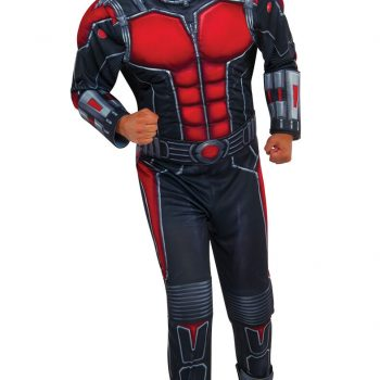 Fancy Dress Costume ~ Adults Deluxe Ant Man Costume