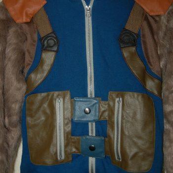 Rockey Raccoon Guardian Of The Galaxy Jacket Coat Costume