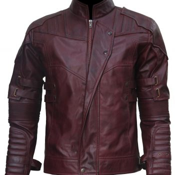 Guardian of the Galaxy Star Lord Leather Jacket