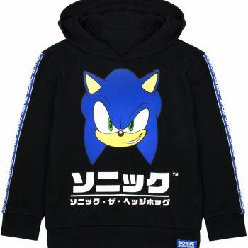 The Hedgehog For Kids Japanese Gamer Hoodie