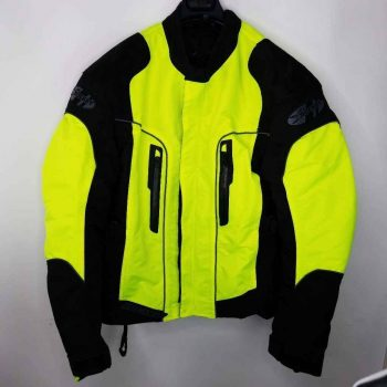 Rocket Men's Ski Jacket Yellow & Black Color