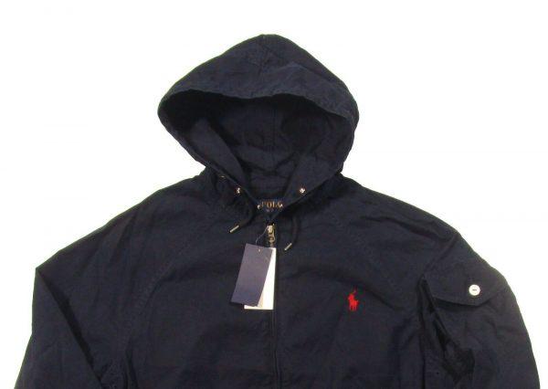 Polo Ralph Lauren Men's Aviator Navy Bayport Hooded Jacket