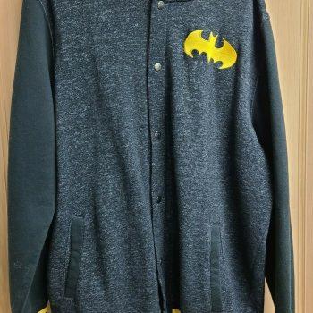 Batman Men Jacket & Sweater Black Charcoal Gray SOFT
