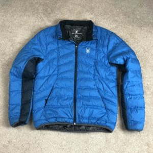 Spyder Men's Medium Prymo Down Puffer Jacket