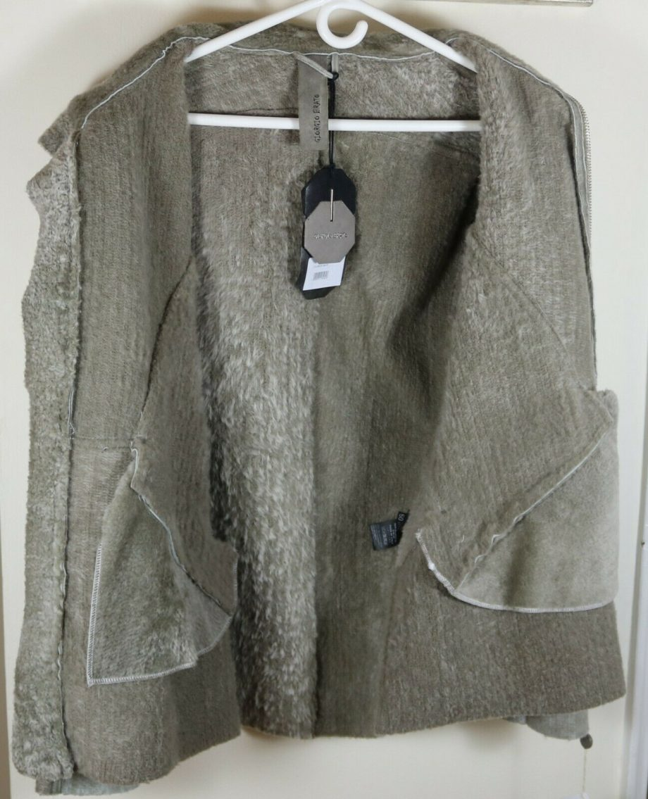 Giorgio Brato 100% Shearling Jacket