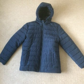 Only & Sons Puffer Jacket Navy