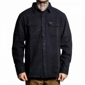 Sullen Men's Phantom Flannel Long Sleeve Jacket