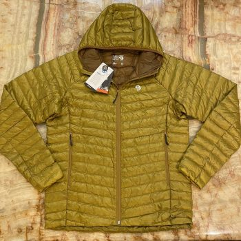 Mens Mountain Hardwear Phantom 800 Down Fill Diamond Fuse Ripstop Jacket