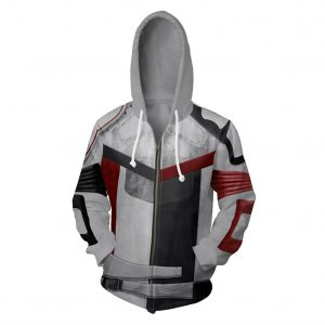 Descendants 3 Carlos Cosplay Costume Hoodie Zip Up Jacket
