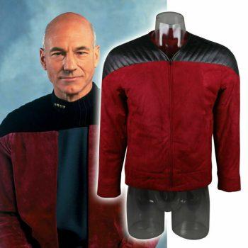 Star Trek The Next Generation Captain Picard Duty Uniform Jacket