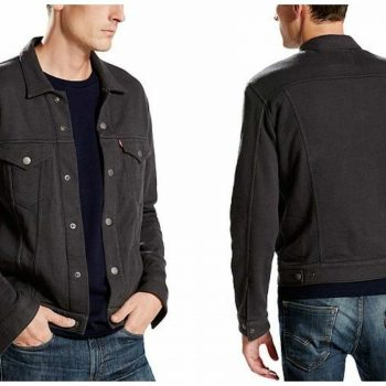 Levi's Men's French Terry Trucker Jacket