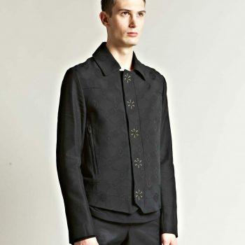 Ann Demeulemeester Phantom Prestige Black Jacket
