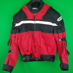 NICE Joe Rocket Mens Large Red Black Biker Jacket