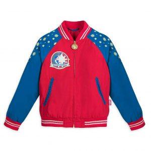 NWT Disney Store Captain Marvel Varsity Jacket