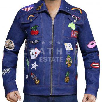 Rocketman Taron Egerton Jacket Elton John Rockstar