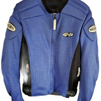 Joe Rocket Mens Size Medium Blue Motorcycle Safety Jacket