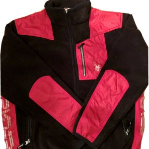 Spyder Fleece Windbreaker Men's Sports Jacket