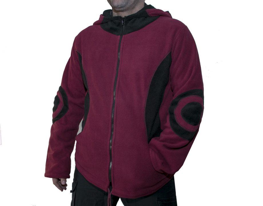 Fleece Pixie Jacket for Man - Thick Fleece coat - Elf hoodie