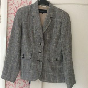Paul Costelloe 100% Linen Jacket, Size 12. Excellent Condition, Fully Lined.
