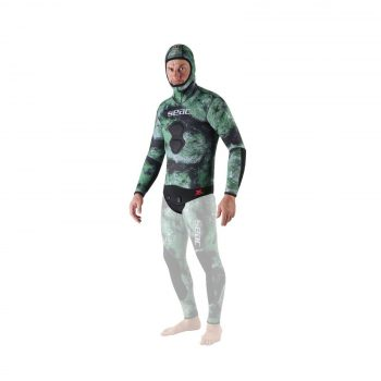 Seac Ghost, Jacket in 7 mm Ultrastretch Neoprene with Incorporated Hood for F...