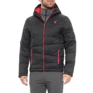 Spyder Men's Black Nexus Puffer Jacket, Size M