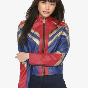 Her Universe Captain Marvel Limited Edition Moto Jacket