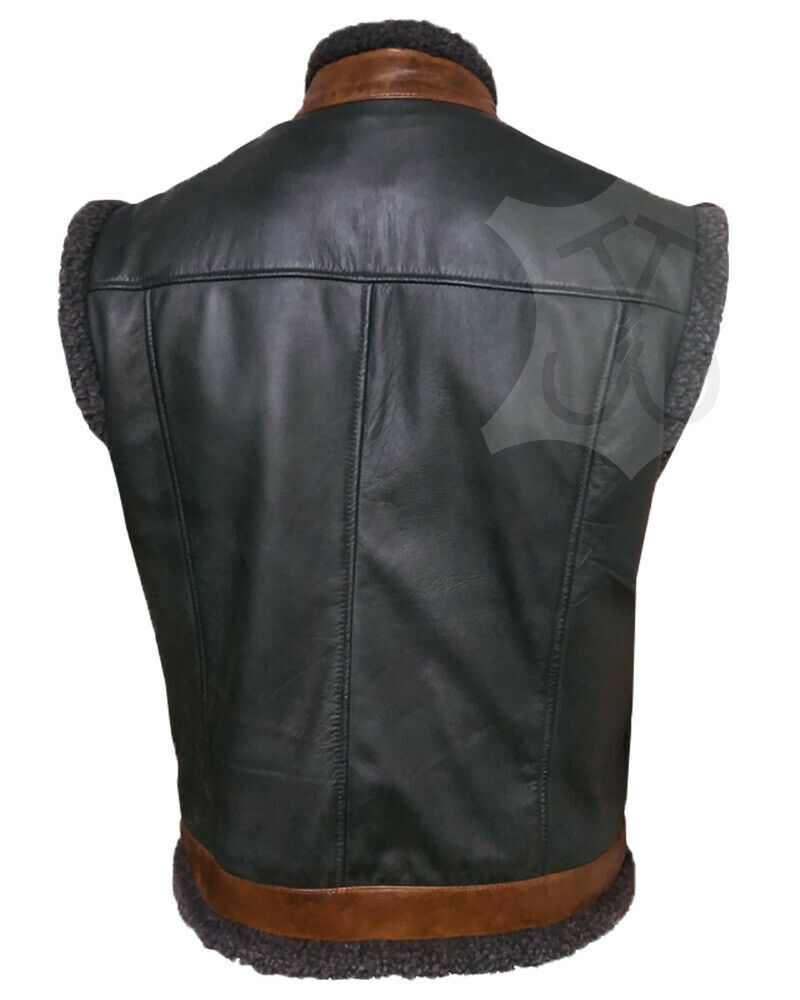 Jumanji The Next Level Smolder Bravestone Dwayne Johnson Leather Vest