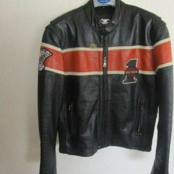 Harley Davidson leather jacket M leather jacket from Japan