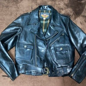 Harley-Davidson Riders Jacket Size M Horse Leather from Japan