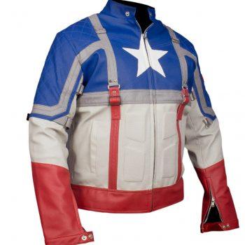Captain America The First Avenger Steve Roger Chris Evans Jacket