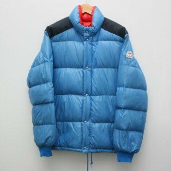Authentic Moncler Grenoble Vintage Blue Goose Down Puffer Jacket Size Medium 80s