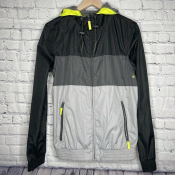 Mossimo Supply Co. Multi-Color Men's Hooded Jacket