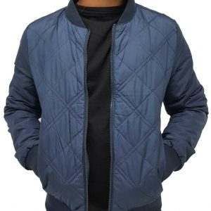 Men's Designer Reversible Bomber Baseball Jacket, New Hip Hop Era Is Time Money