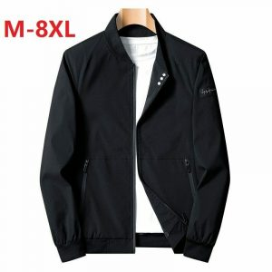 Men Bomber Jacket Thin Slim Long Sleeve Windbreaker Outwear Coat Clothing New