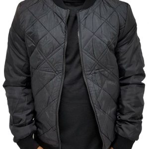 Men's Designer Reversible Bomber Baseball Jacket, New Hip Hop Era, Is Time Money