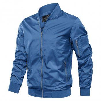 Men's Bomber Jacket Pilot Style Tactical Causal Jacket Coat Outwear Student Boys