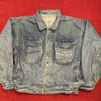 Ice 200 blue denim jacket size Large