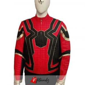 Avengers Infinity War Spider-Man Leather Jacket | All Sizes
