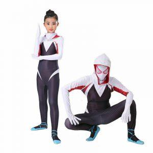 NEW Spider-Gwen Stacy Jumpsuits Spider-Man