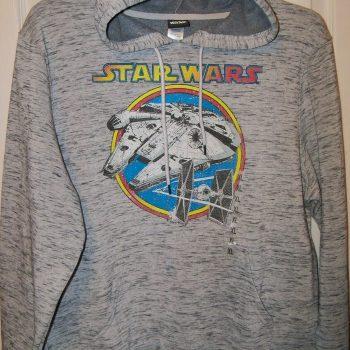 Star Wars Battleship Gray Hoodie Jacket