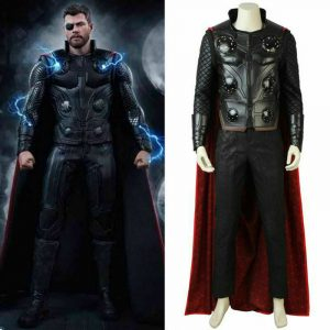 The Avengers Infinity War Thor Cosplay Costume Props Odinson Outfit Accessories