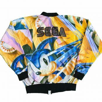 Vintage Sonic the Hedgehog Windbreaker Jacket
