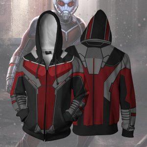 Avengers 3 Infinity War Ant-Man hoodie Sweatshirt Cosplay Costume coat jacket