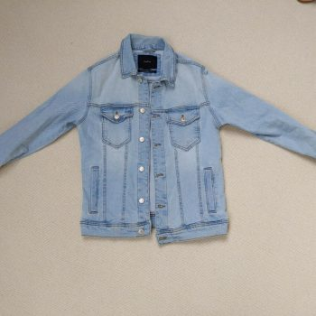 Zara Men's Denim Jacket Size M