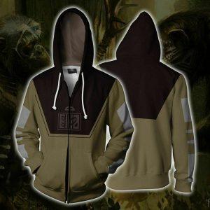3D The Avengers Man-Ape hoodie