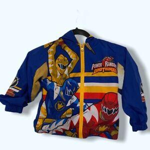 Vintage power rangers dino thunder jacket size 5