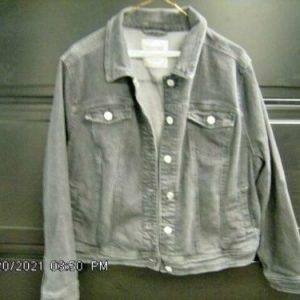 Mossimo Black Denim Jacket Size 1X